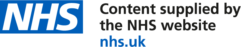 Content supplied by the NHS Website